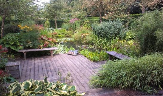 Tuin in De Tuinen van Nunspeet