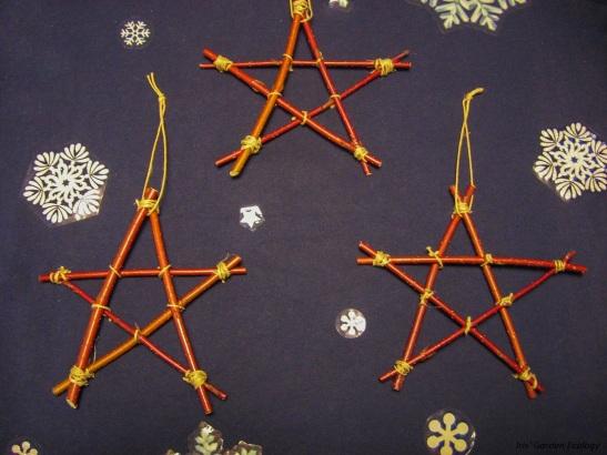 Sterren kerst versiering1