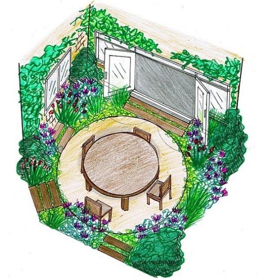 tuin ontwerpje haarlem1