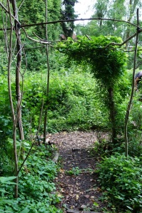 permacultuur tuin haren entree