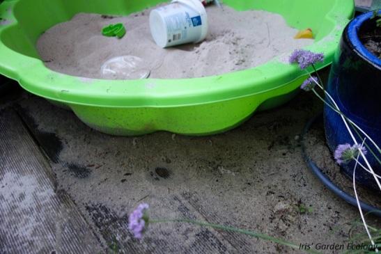 alles wordt een grote zandbak