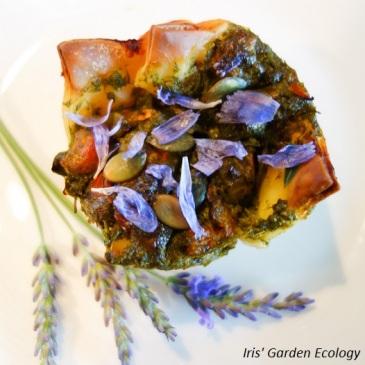 eetbare-bloemen-bladerdeeg-hartige-taart