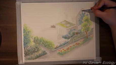 Timelapse van een ontwerp – de elementen van een ecologische tuin (en stad)