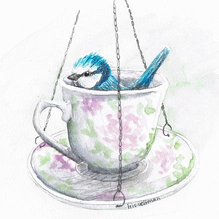 Tuindagboek: Zo klein als een theekop